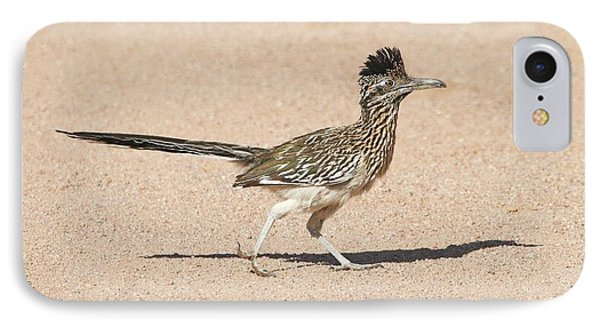Road Runner On The Road IPhone Case by Tom Janca