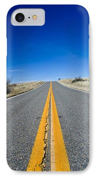 Road Through Sulphur Flats Phone Case by Jim DeLillo