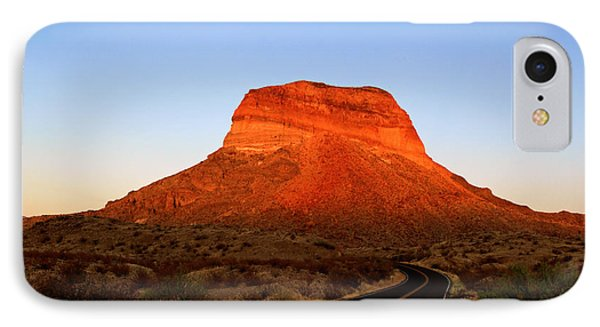 Road To Cerro Castellan IPhone Case