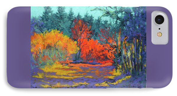 IPhone Case featuring the painting Road To Deer Creek by Nancy Jolley