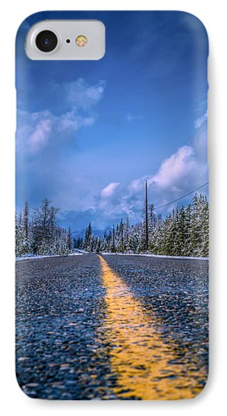 IPhone Case featuring the photograph Road To Home by Rob Tullis