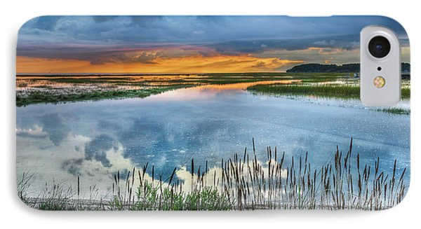 Road To Lieutenant Island IPhone 7 Case by Bill Wakeley