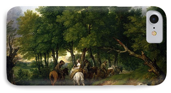 Road To Market Painting IPhone Case by Thomas Gainsborough