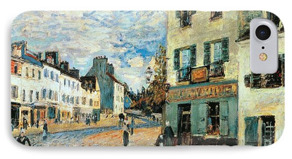 Road To Marly IPhone Case by Alfred Sisley