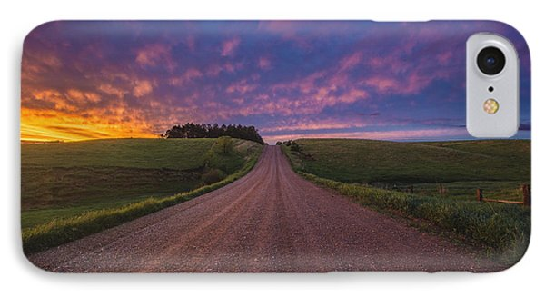 Road To Nowhere El IPhone Case by Aaron J Groen