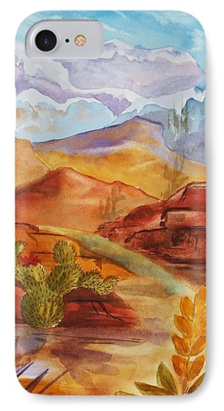 Road To Nowhere IPhone Case by Ellen Levinson