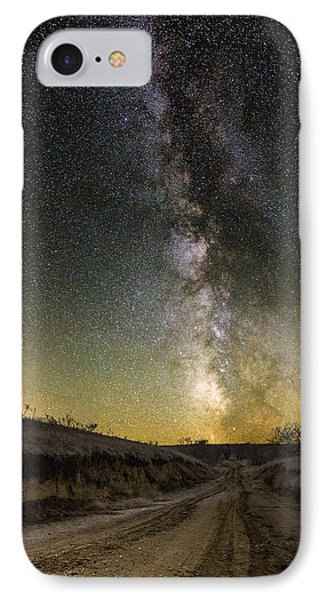 Road To Nowhere - Great Rift IPhone Case by Aaron J Groen