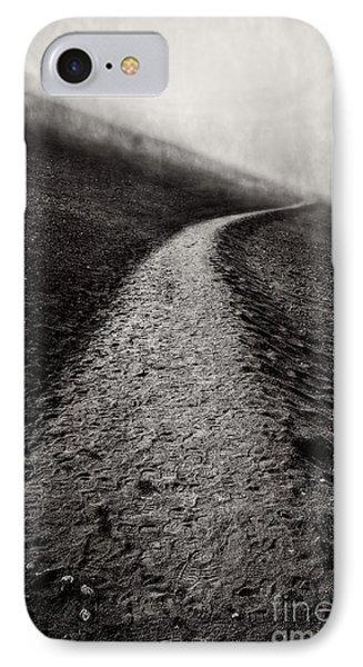 Road To Nowhere Haleakala National Park Maui Hawaii IPhone Case by Edward Fielding