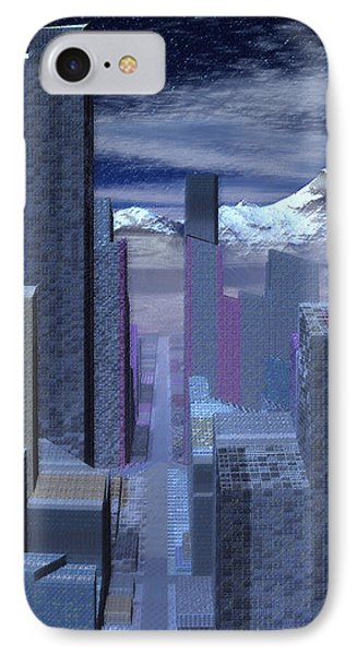 IPhone Case featuring the digital art Road To Nowhere by Judi Suni Hall