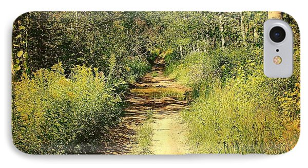 IPhone Case featuring the photograph Road To Nowhere by Susan Crossman Buscho
