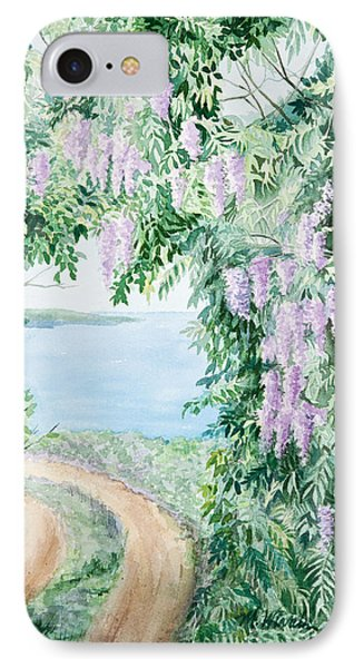 Road To Paradise IPhone Case by Michelle Wiarda