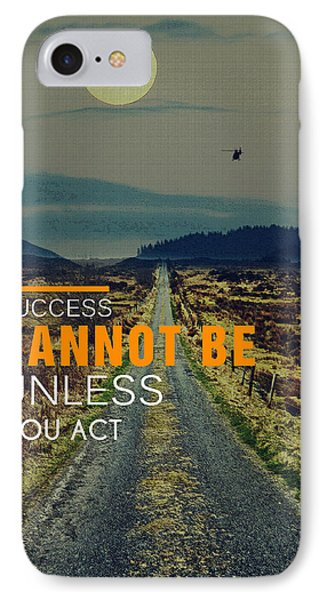 Road To Success IPhone Case by Celestial Images