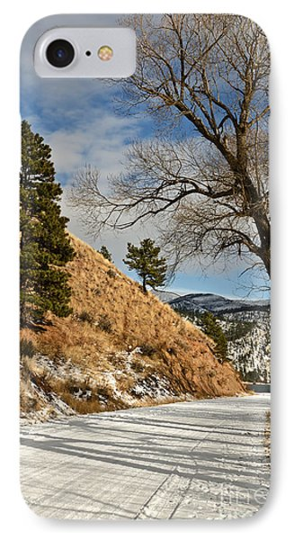 IPhone Case featuring the photograph Road To The Lake by Sue Smith