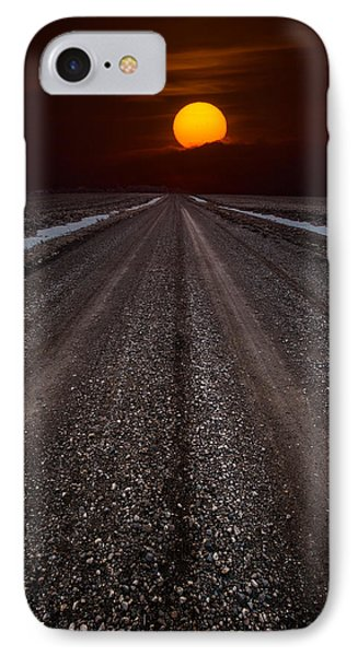 Road To The Sun IPhone Case by Aaron J Groen