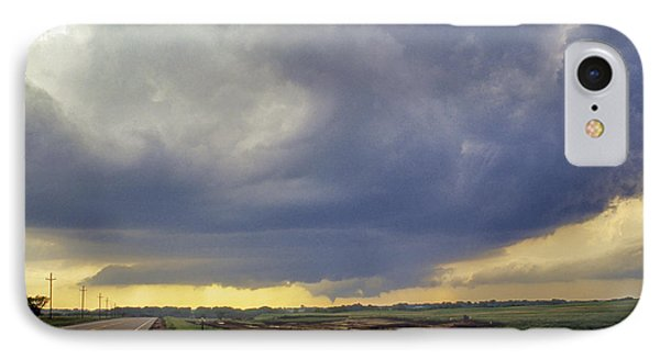 Road To The Tornado - Woonsocket South Dakota Phone Case by Jason Politte