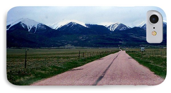 Road To Westcliffe IPhone Case by Carlee Ojeda