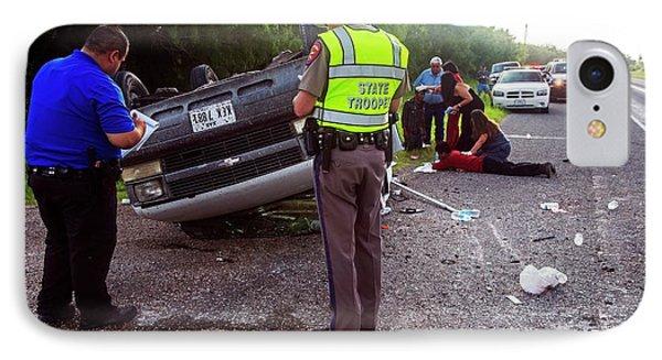 Road Traffic Accident IPhone Case