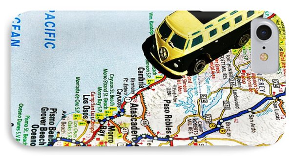 Road Trip - The Pch Phone Case by Benjamin Yeager