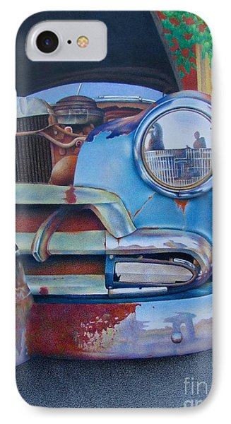 Road Warrior IPhone Case by Pamela Clements