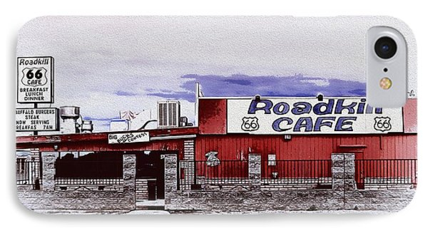 Roadkill Cafe IPhone Case