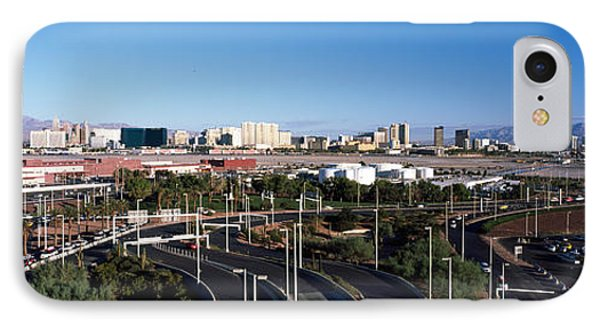 Roads In A City With An Airport IPhone Case by Panoramic Images