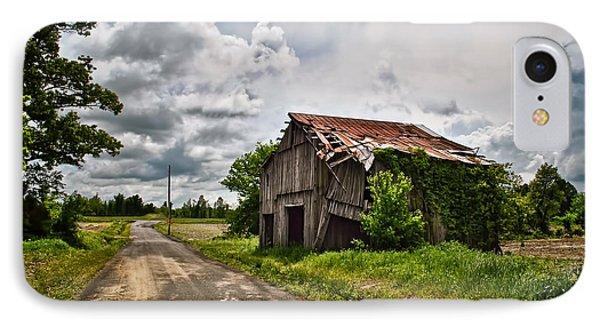 Roadside Barn IPhone Case