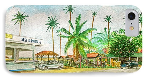 Roadside Food Stands Puerto Rico IPhone Case by Frank Hunter