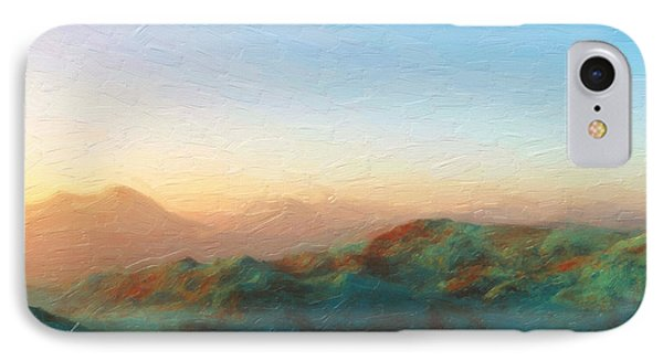 Roaming Hills And Valleys 2 IPhone Case by The Art of Marsha Charlebois