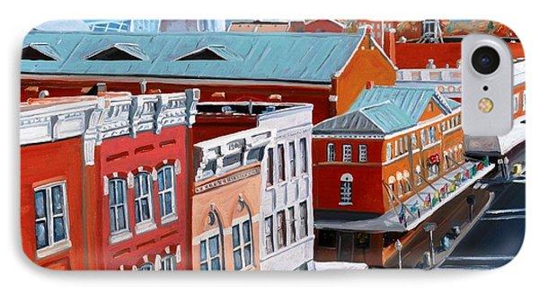 Roanoke City Market Phone Case by Todd Bandy