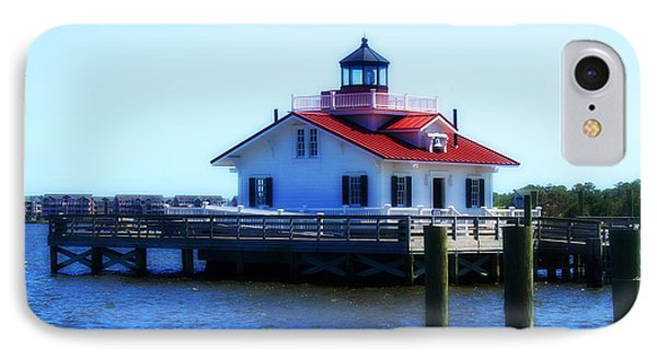 Roanoke Marshes Light 4 IPhone Case by Cathy Lindsey