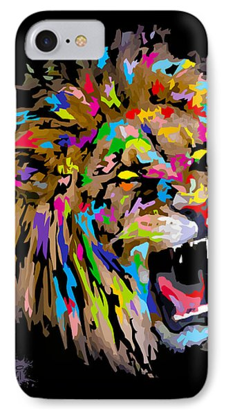 IPhone Case featuring the digital art Roar by Anthony Mwangi