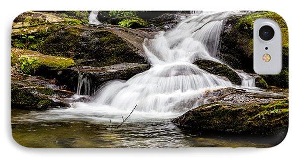 Roaring Fork Falls 04 Detail IPhone Case