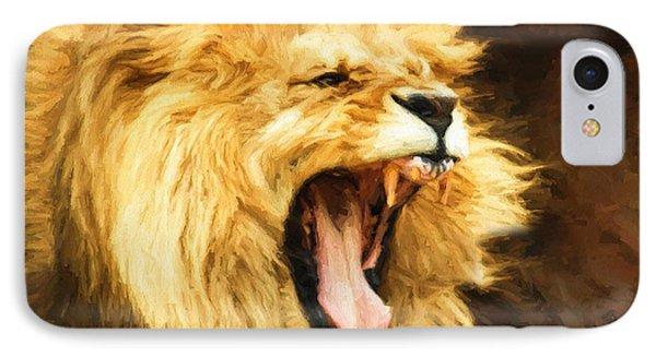 Roaring Lion IPhone Case
