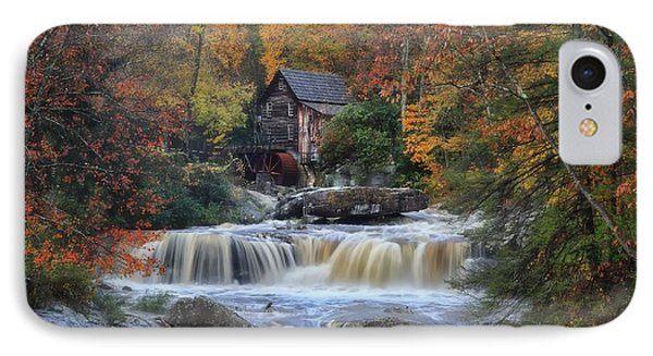 Roaring Past The Mill IPhone Case by Daniel Behm