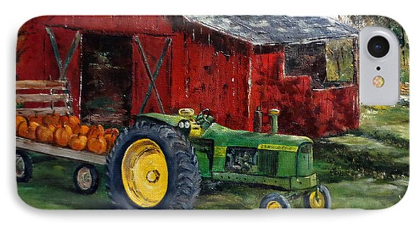 Rob Smith's Tractor IPhone Case by Lee Piper