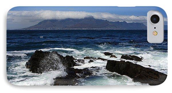 Robben Island View Phone Case by Aidan Moran