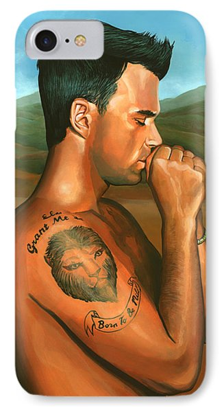 Robbie Williams 2 IPhone Case