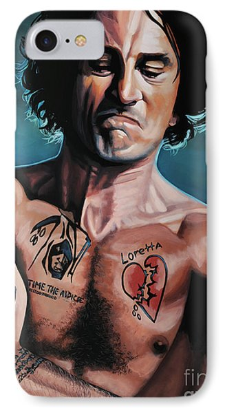 Robert De Niro 2 IPhone Case by Paul Meijering