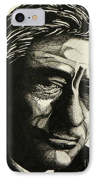 Robert De Niro IPhone Case by Ken Nguyen