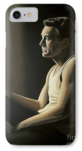 Robert De Niro IPhone Case by Paul Meijering