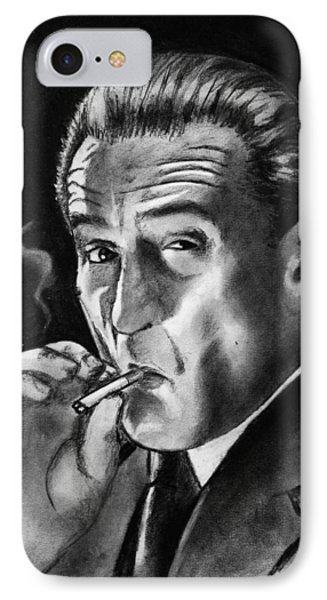 Robert De Niro IPhone Case by Salman Ravish