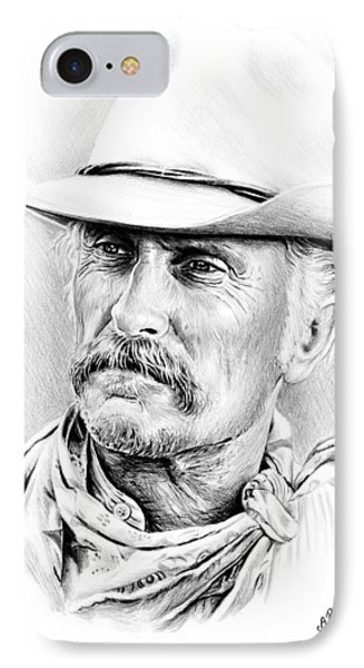 Robert Duvall IPhone Case by Andrew Read