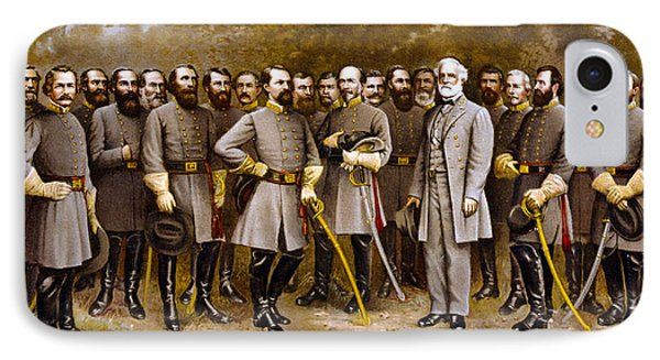 Robert E. Lee And His Generals IPhone Case