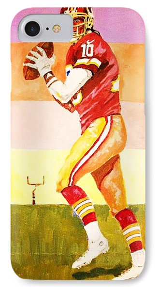IPhone Case featuring the painting Robert Griffin Lll by Al Brown