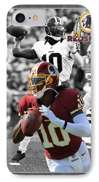 Robert Griffin Rgiii Redskins IPhone Case by Joe Hamilton