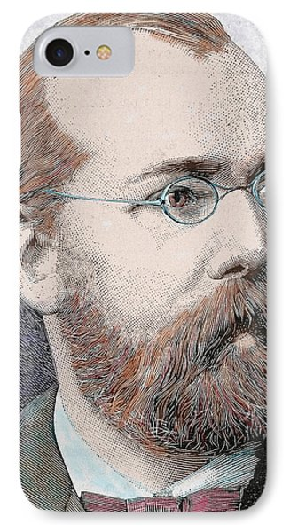 Robert Koch (clausthal, Near Hanover IPhone Case by Prisma Archivo