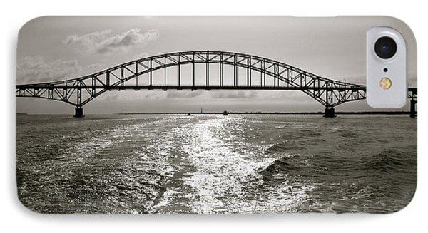 Robert Moses Bridge IPhone Case by Paul Cammarata