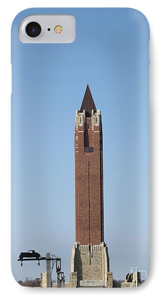 Robert Moses Tower At Jones Beach IPhone Case by John Telfer