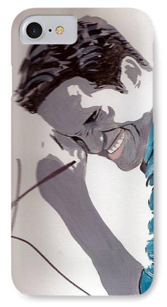 Robert Pattinson 48a Phone Case by Audrey Pollitt