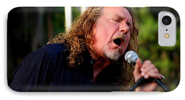 Robert Plant 2 IPhone Case by Angela Murray